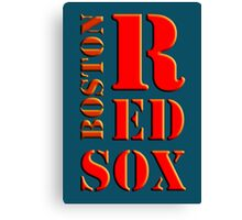 Boston Red Sox 1 Canvas Print