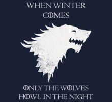 House Stark - Game of Thrones T-Shirt / Phone case / More 9 by zehel