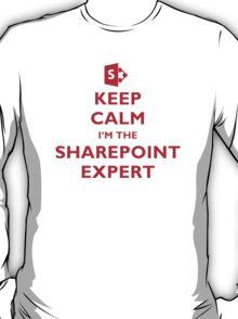 Keep Calm I'm the SharePoint Expert T-Shirt