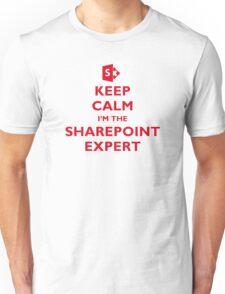 Keep Calm I'm the SharePoint Expert Unisex T-Shirt