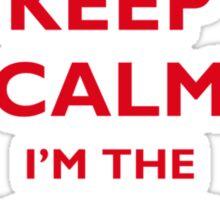 Keep Calm I'm the SharePoint Expert Sticker