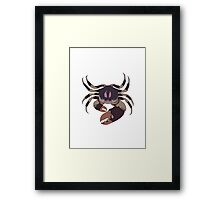 mud crab Framed Print