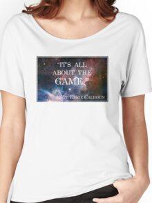 Calhoun's Best Words Women's Relaxed Fit T-Shirt