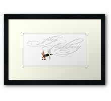 Fly Fishing Renegade  Framed Print