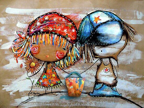 Jack and Jill  by © Karin  Taylor