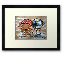 Jack and Jill  Framed Print