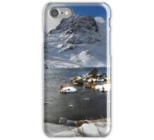 Harrison Stickle and Stickle Tarn in the English Lake District iPhone Case/Skin