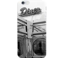 Diner 10 BW iPhone Case/Skin