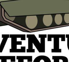 Amored Tank Adventure Before Dementia Sticker
