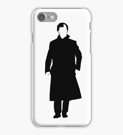 Sherlock Holmes Silhouette iPhone Case/Skin