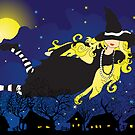 Blond Witch by VioDeSign