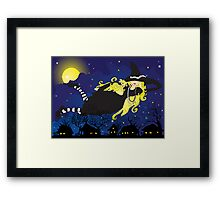 Blond Witch Framed Print