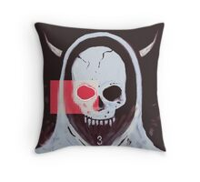 the undead angel Throw Pillow