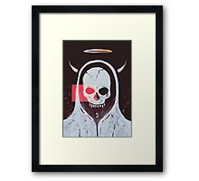 the undead angel Framed Print