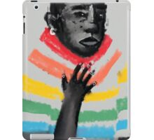 rainbow suit iPad Case/Skin