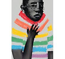 rainbow suit Photographic Print