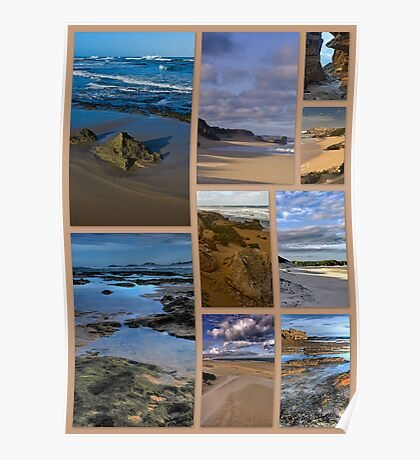 Kenton Seascapes Poster