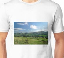Great Ridge Hills, from the Pennine Way  Unisex T-Shirt