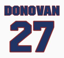 National football player Donovan Small jersey 27 by imsport