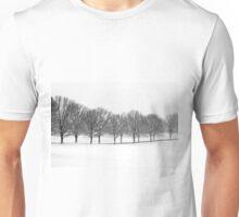 Wintry Trees Unisex T-Shirt