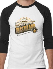 Greetings from the Wasteland! Men's Baseball ¾ T-Shirt