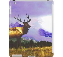Elk- Jasper National Park, Canada iPad Case/Skin