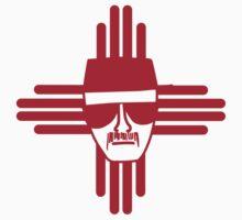 Heisenberg Zia Symbol New Mexico Flag Kids Tee