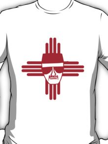 Heisenberg Zia Symbol New Mexico Flag T-Shirt