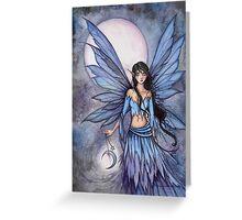 Lunetta Little Moon Fairy Mystical Illustration Fantasy Art Greeting Card