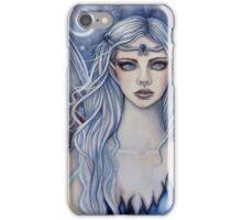 Sapphire Mystical Fairy Fantasy Art by Molly Harrison iPhone Case/Skin