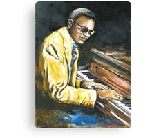 Study of Ray Charles Canvas Print
