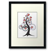 Love growth Framed Print