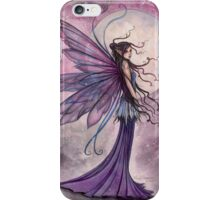 Starlit Amethyst Celestial Fairy Fantasy Art by Molly Harrison iPhone Case/Skin