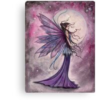 Starlit Amethyst Celestial Fairy Fantasy Art by Molly Harrison Canvas Print