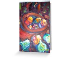 Color and Spice. Greeting Card