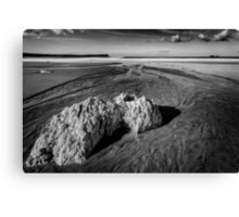 White Park Bay Exposed Canvas Print