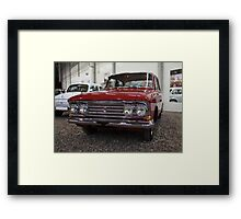 retro car Moskvich Framed Print