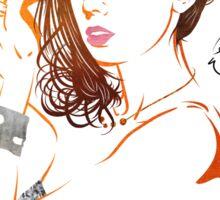 Alison Brie Sticker
