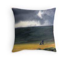 The Golfer Throw Pillow