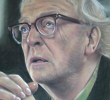 Michael Caine by Valerie Simms