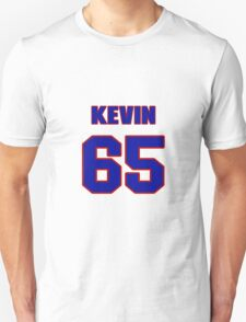 National football player Kevin Dogins jersey 65 T-Shirt