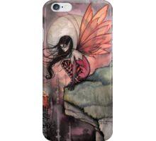 Autumn Flame Fairy Fantasy Art by Molly Harrison iPhone Case/Skin
