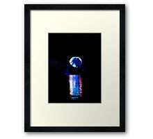 Glowing World Framed Print