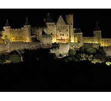 Comtal, Carcassonne. Photographic Print
