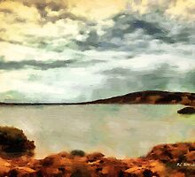 Stormclouds Over The Island by RC deWinter