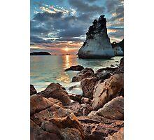 Te Hoho Amber Sunrise Photographic Print