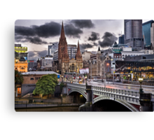 St Paul Cathedral @ Sunrise Canvas Print