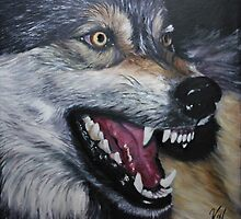 Wolf by Valerie Simms