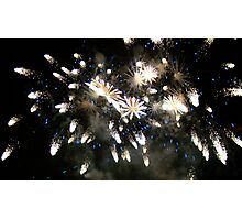 Firework Photographic Print