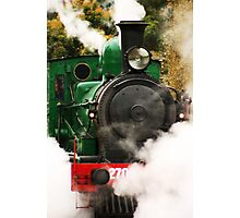 Steam Photographic Print